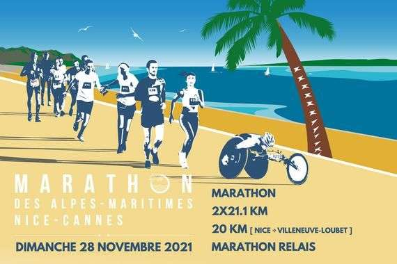 MArathon Nice Cannes 2021